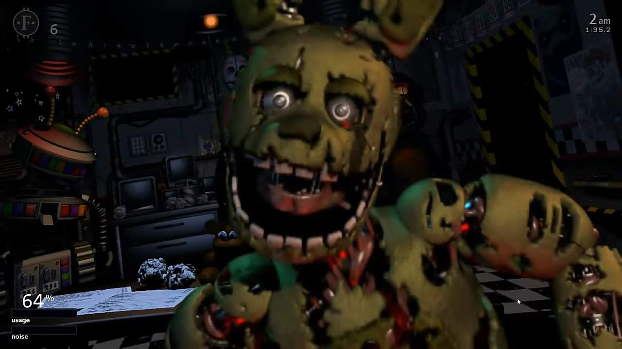 All Jumpscares & Distractions in Ultimate Custom Night