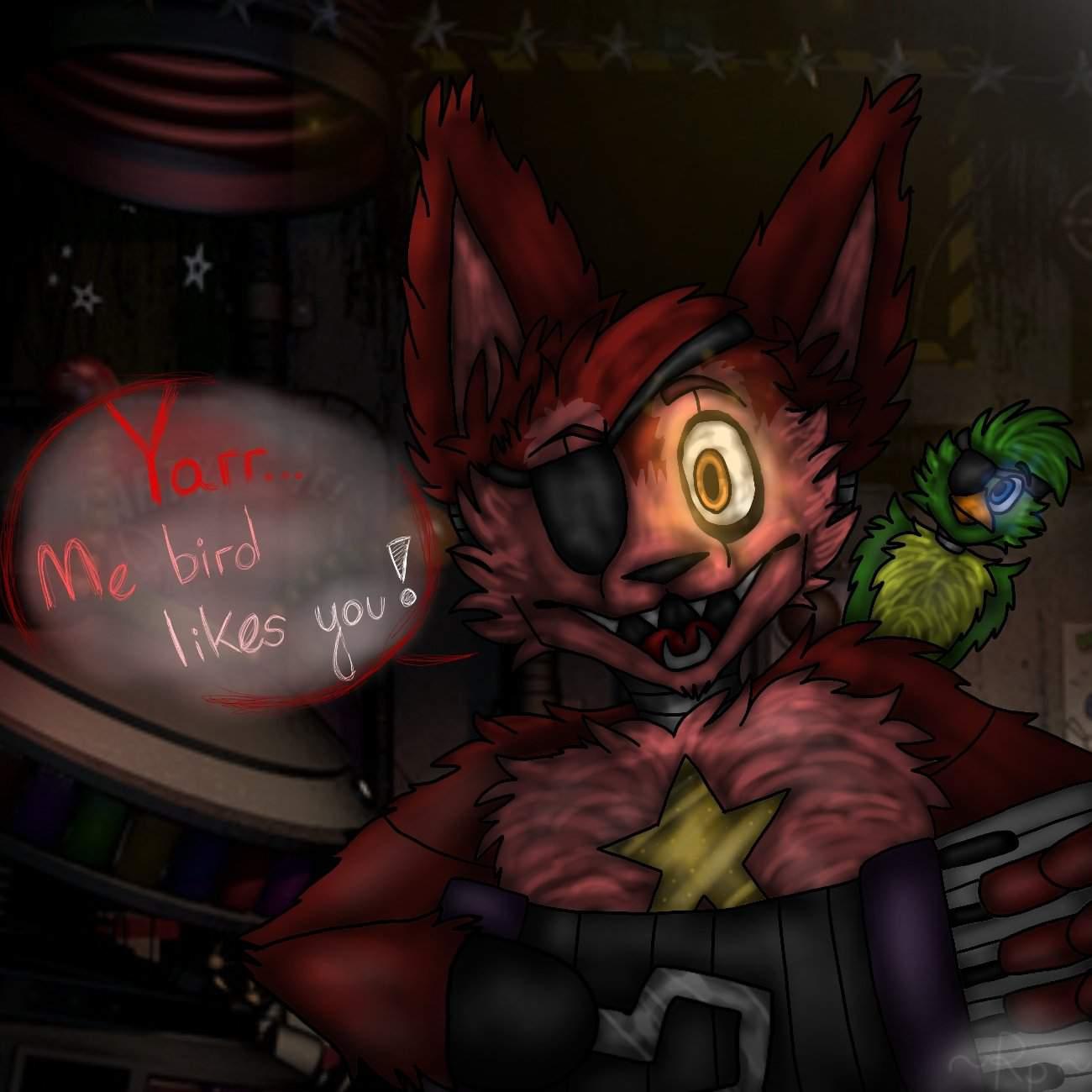 Yarr... Me Bird Likes You!:.~🐦 //Ultimate Custom Night