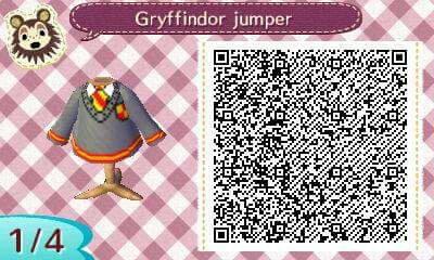 Harry Potter Qr Codes Wiki Animal Crossing Amino