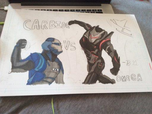 Carbide Vs Omega Drawing Fortnite Battle Royale Armory Amino
