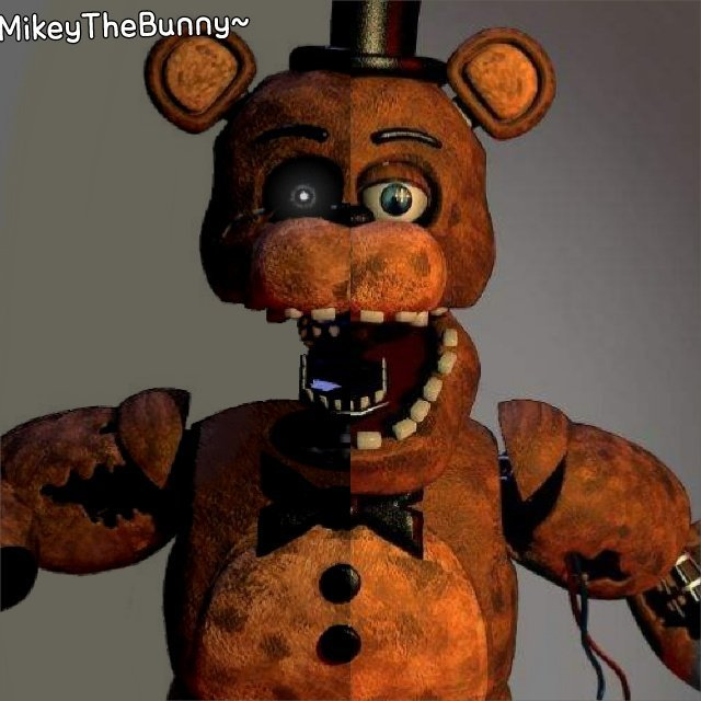 Five Nights At Freddy S Amino: Ignited Freddy Blended With Withered Freddy