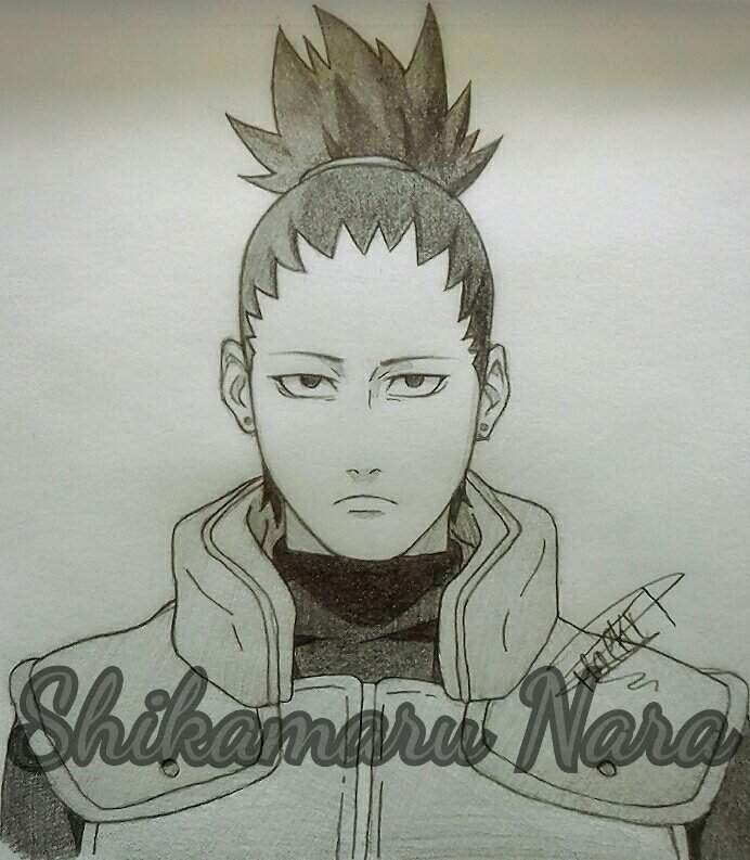 Tuto Dessin Comment Faire Shikamaru Nara Naruto Boruto Fr Amino