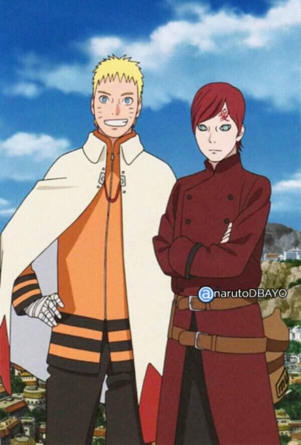 Naruto E Gaara Boruto Oficial Br Amino