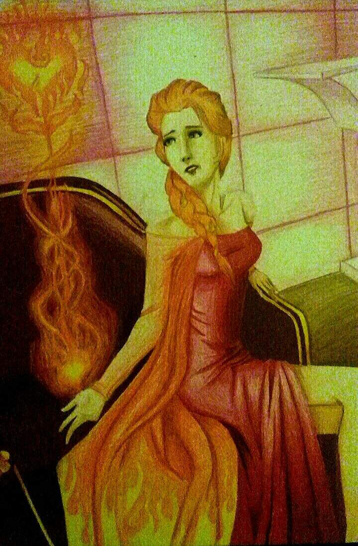 Burning Elsa 🔥 | Cartoon Amino