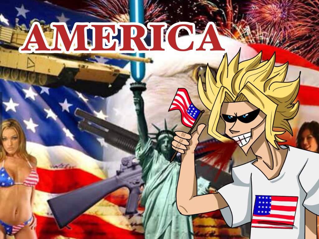 United States Of Smash Bitch My Hero Academia Amino