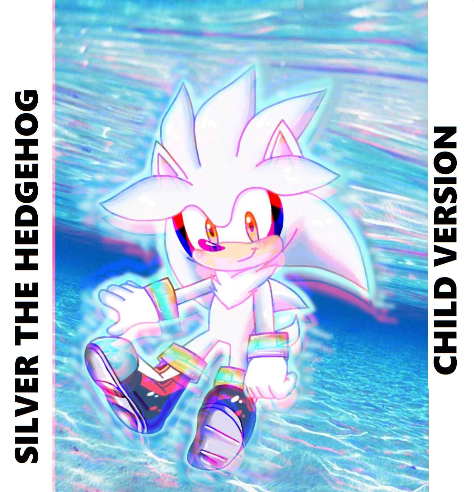 Young Silver The Hedgehog Floating 3d Version Sonic The Hedgehog Amino