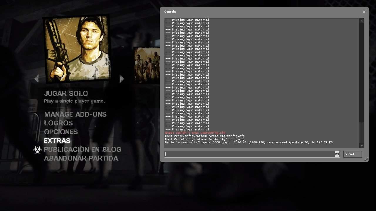 La Consola Del Programador | • Left 4 Dead En Español • Amino