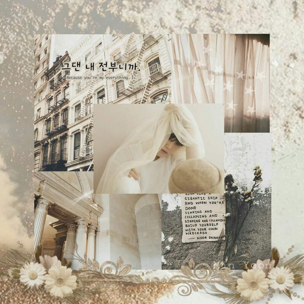 Yoongi Beige Aesthetic Min Suga Amino