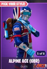 I Have A Biritish Style Ski Suit With The Back Bling And Pickaxe Im
