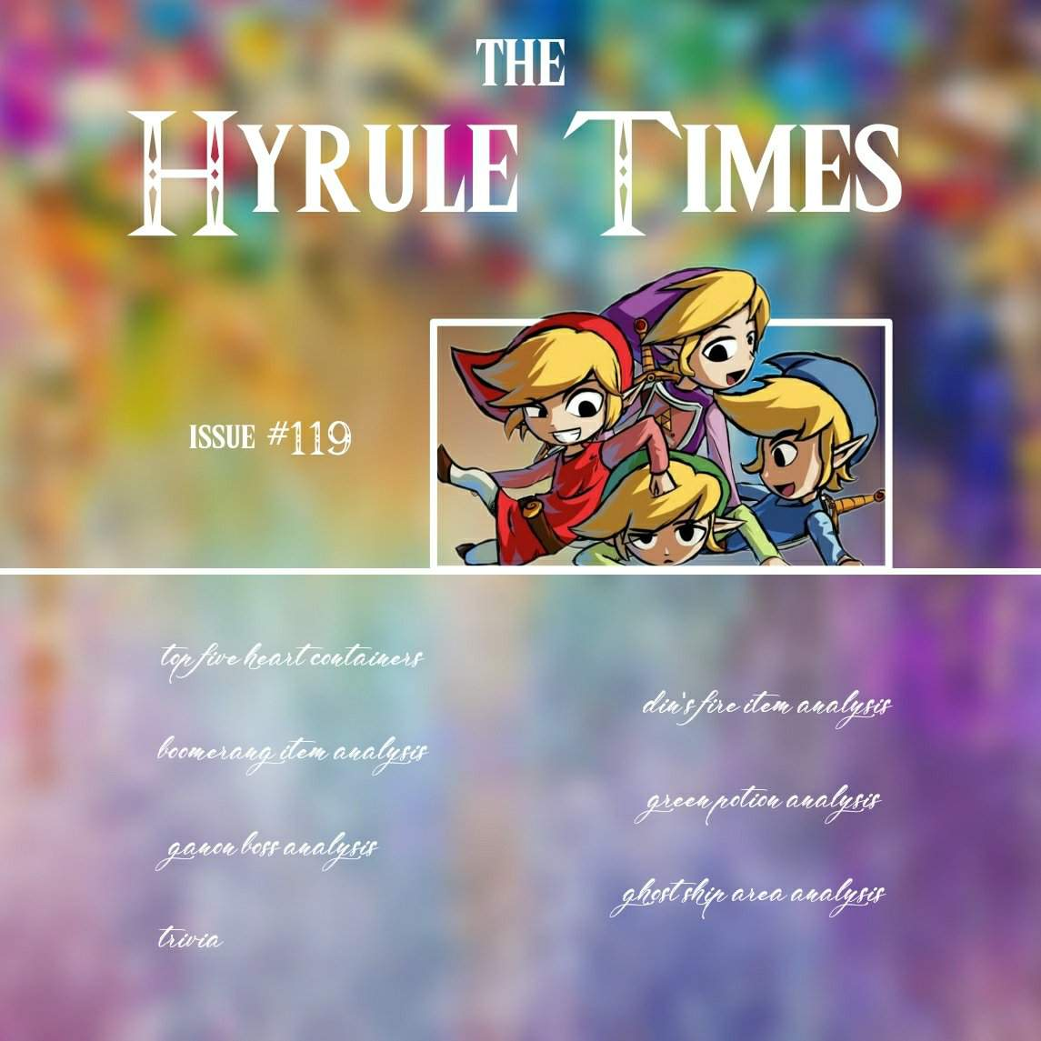 The Hyrule Times Issue 119 Zelda Amino