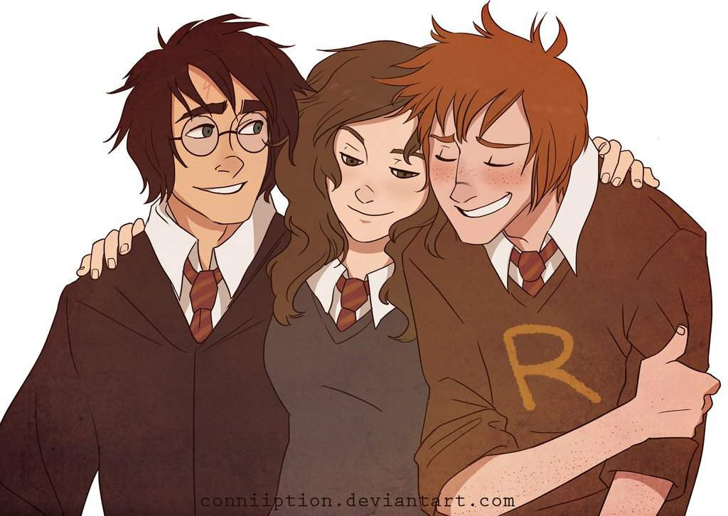 Trio Of Heroes By Conniiption Deviantart Harry Potter