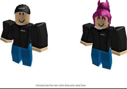 John Doe E Jane Doe Wiki Roblox Brasil Official Amino