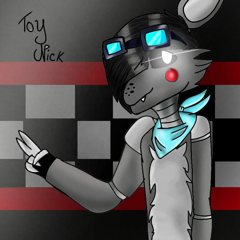 My New O C Draw By Me I Created Him On Roblox Animatronic World