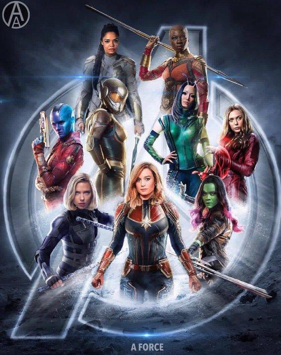 Marvel Weibliche Helden