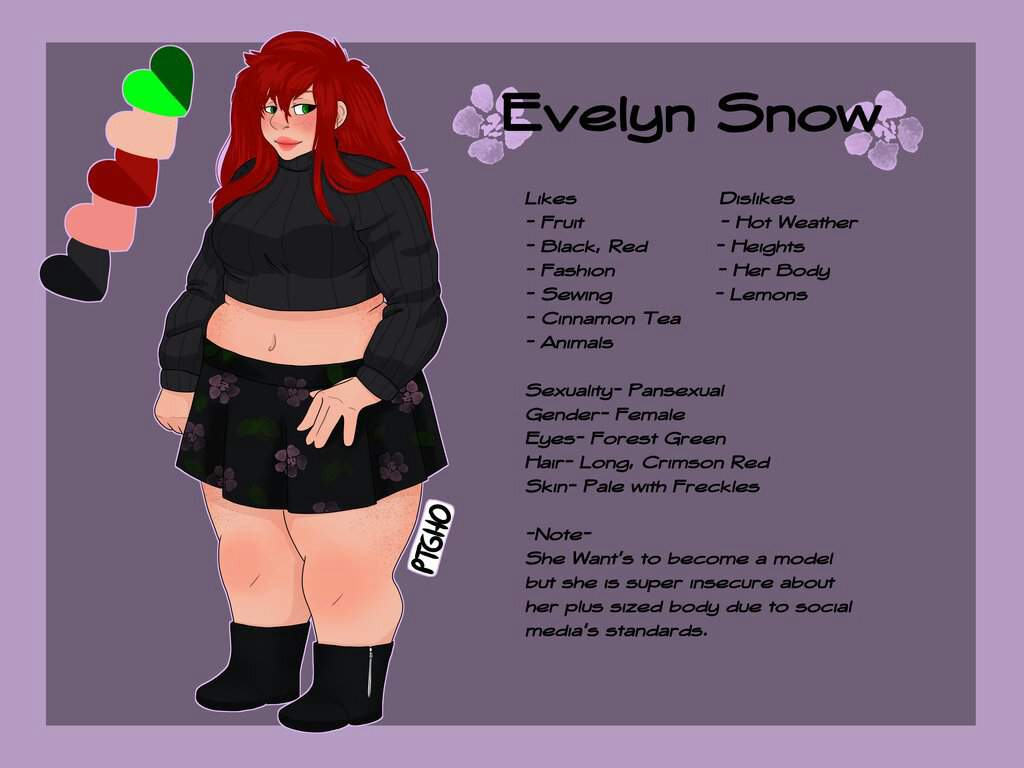 Reference Sheet Evelyn Snow Flying Pings Art Amino