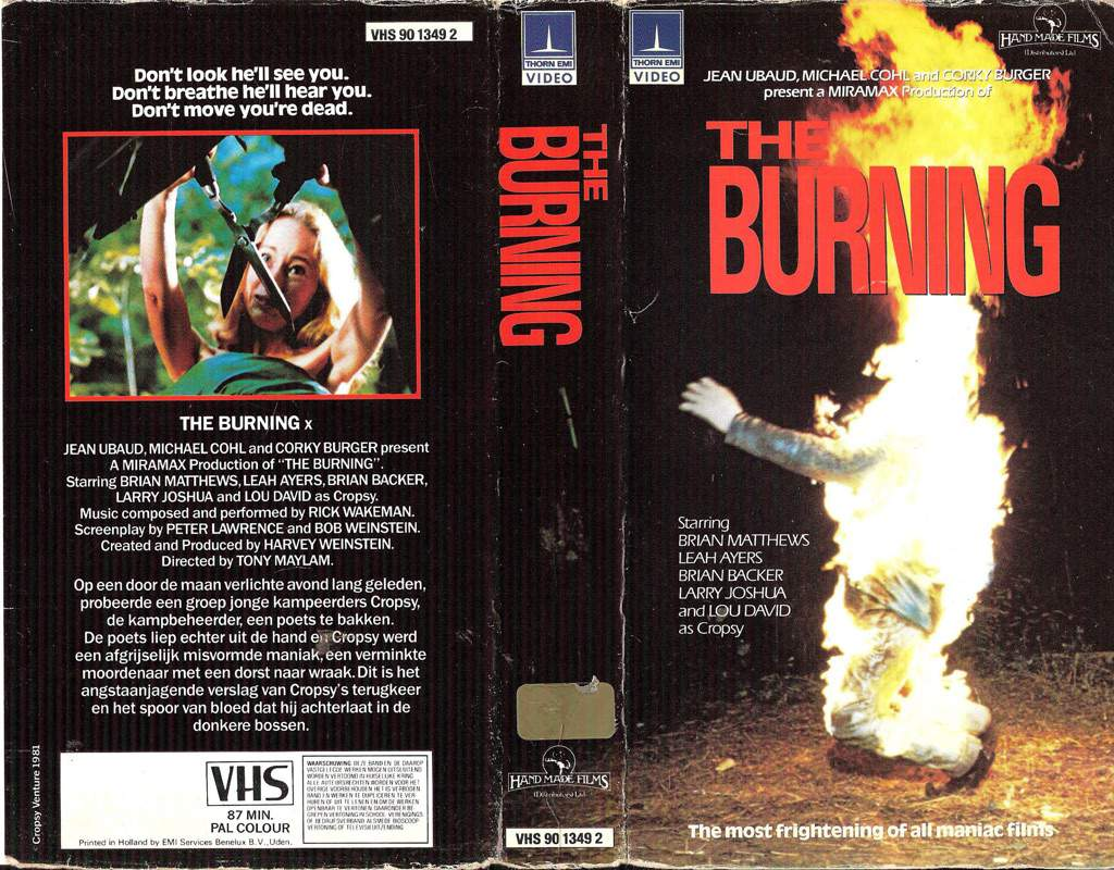 Film Review: The Burning | Horror Amino