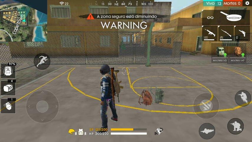 0 Kill Free Fire Elite One Br Amino