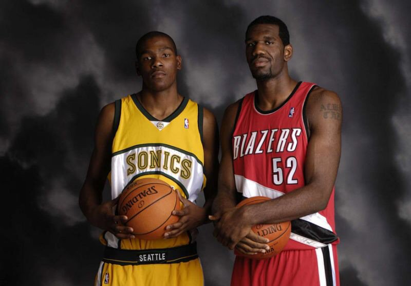 0fdc5ea1b8a5 What If Kevin Durant was Drafted by the Trail Blazers
