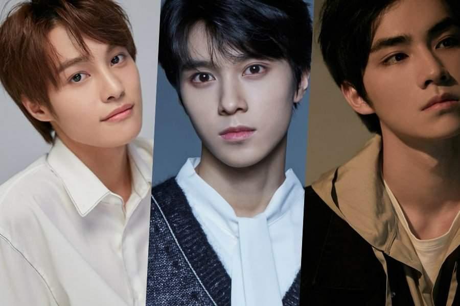 Yang Yang Hendery And Xiao Jun Nct New Members K Pop Amino