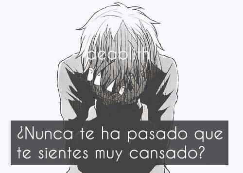 Ya Me Canse De Todode Todos Frases Animes Amino Amino