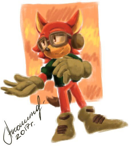 Red wolf | Sonic the Hedgehog! Amino