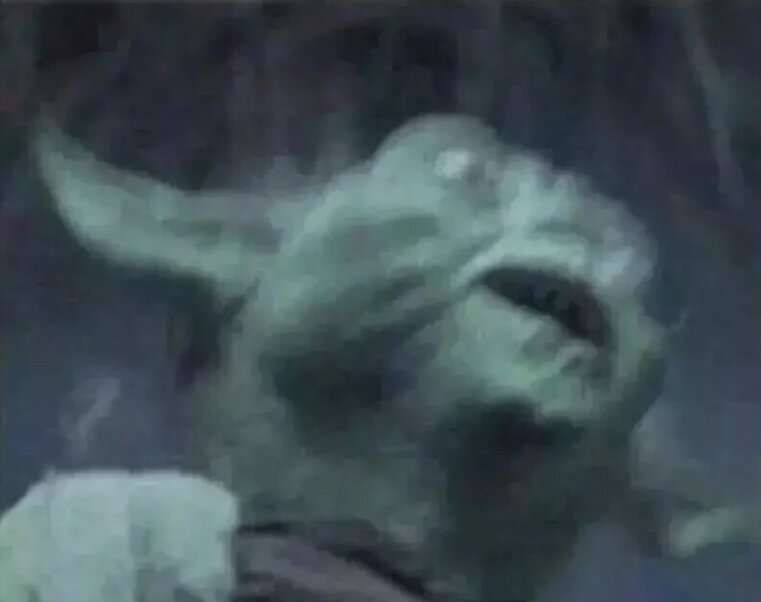 Leaked photo of my reaction to the Clone Wars trailer | Star