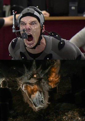 Happy Birthday Benedict Cumberbatch 42 Years Smaug And Sauron