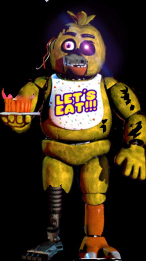 Fnaf 1 Withered Chica Five Nights At Freddy S Amino