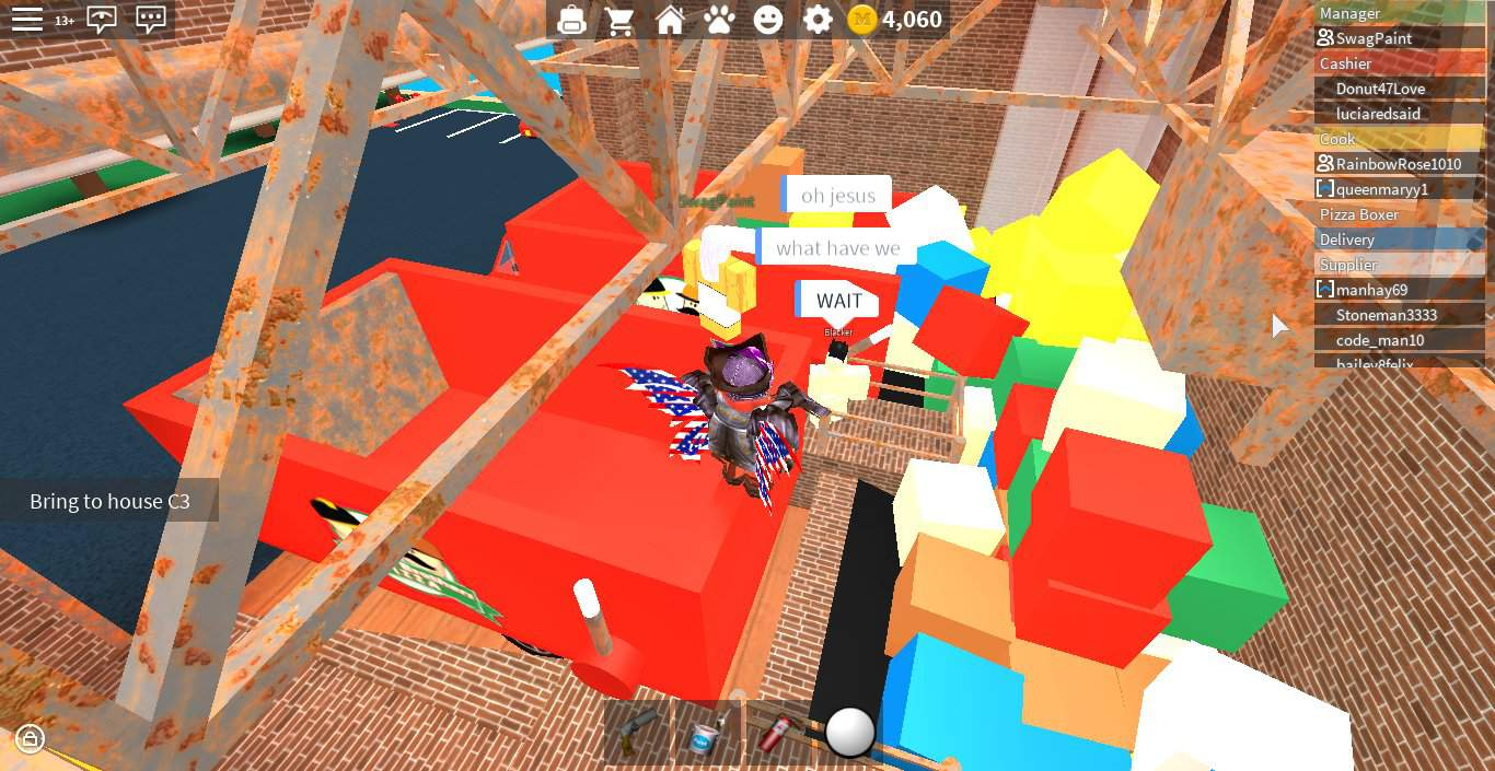 Trolling In Work At A Pizza Place Roblox Amino