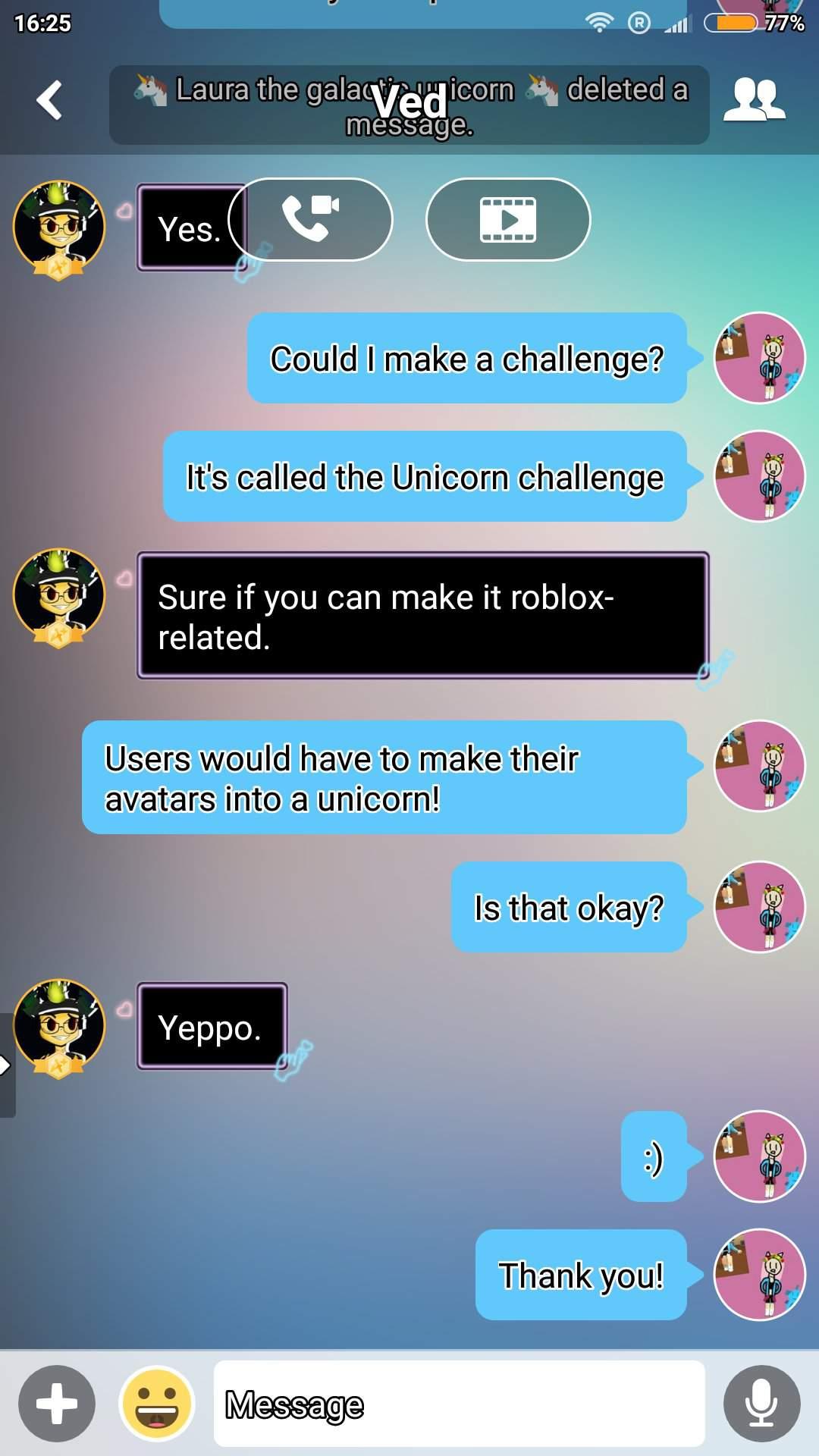 Unicorn Challenge Roblox Amino