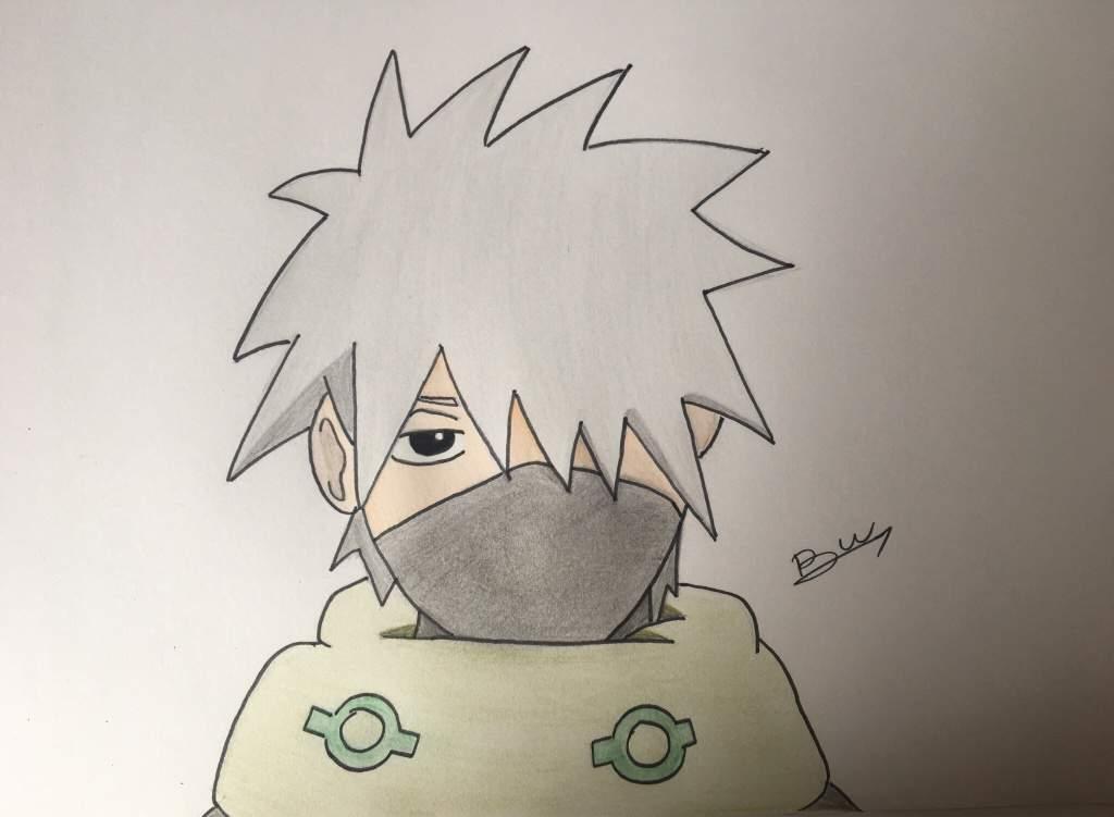 Dessin Kakashi Naruto Fr Amino
