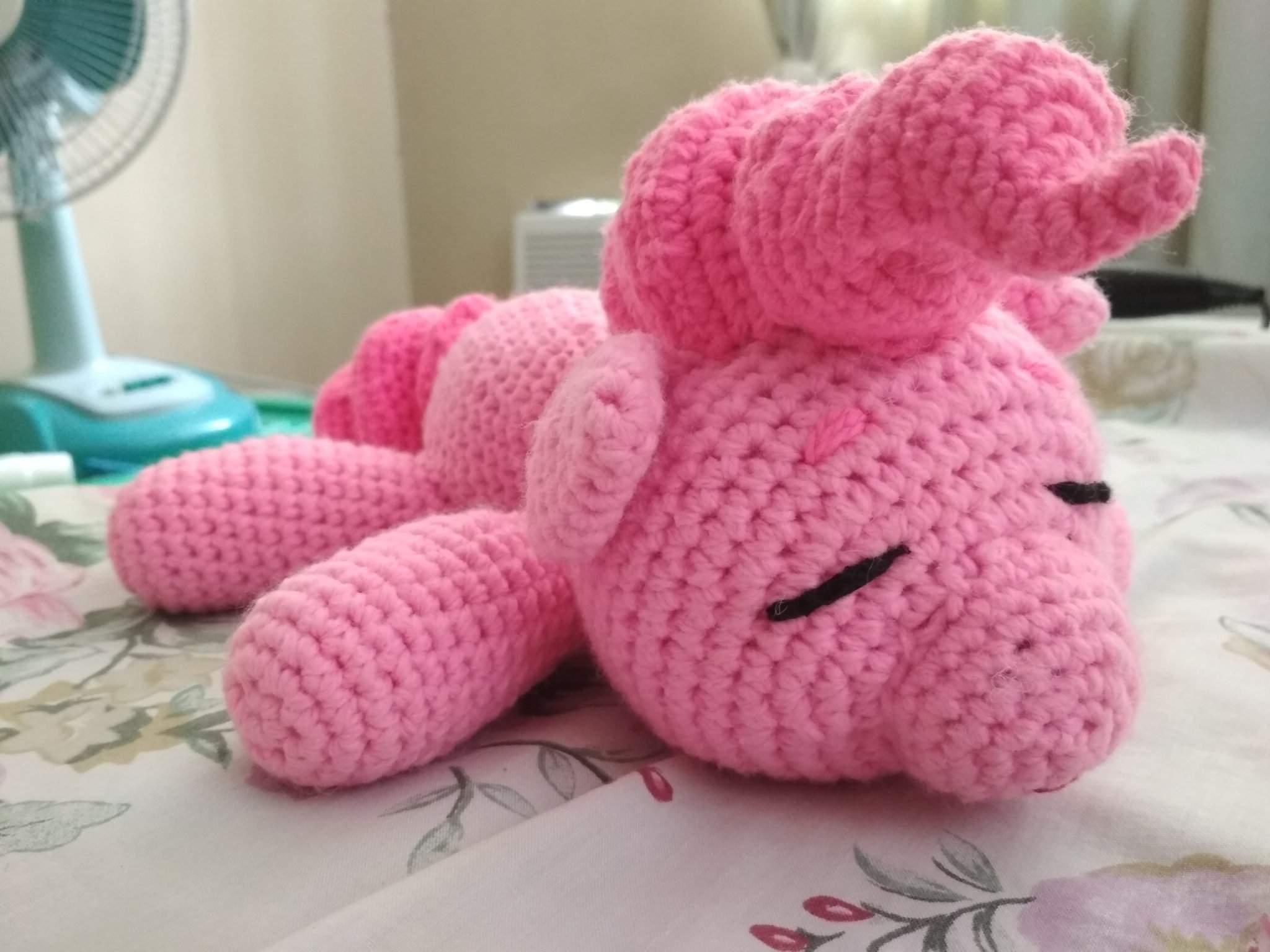 Sleeping unicorn pony crochet pattern | Crochet unicorn pattern ... | 1536x2048