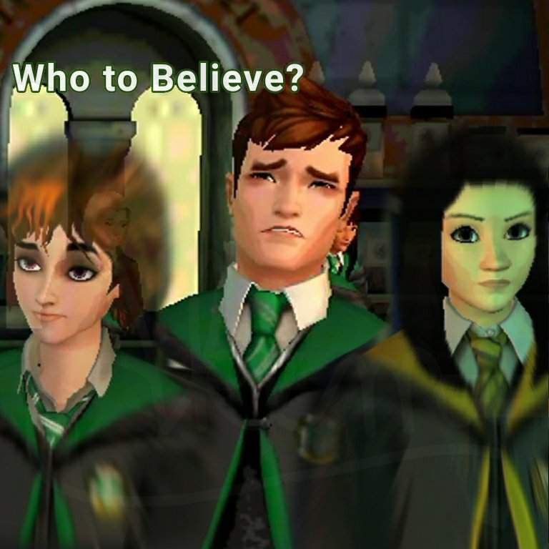Who to believe? [Barnaby Lee fanfic] | Hogwarts Mystery