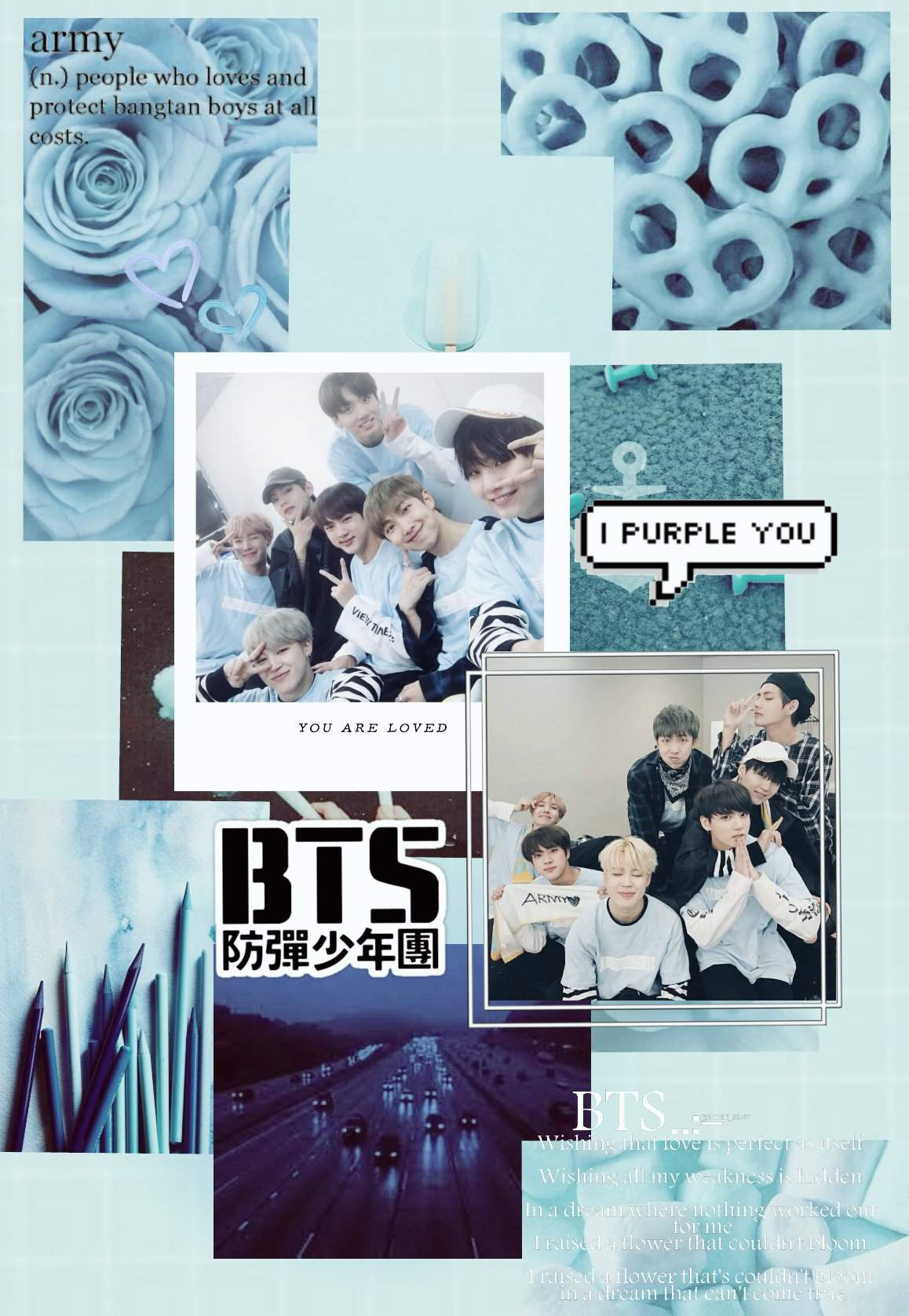 Bts Aesthetic Background And Logo Army S Amino