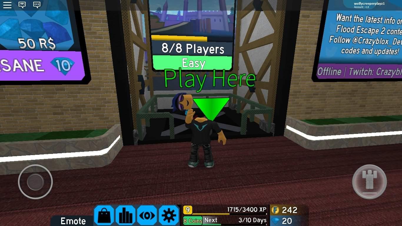 Blog De Flood Escape 2 Roblox Amino En Español Amino Roblox Flood Escape 2 Video Games Amino