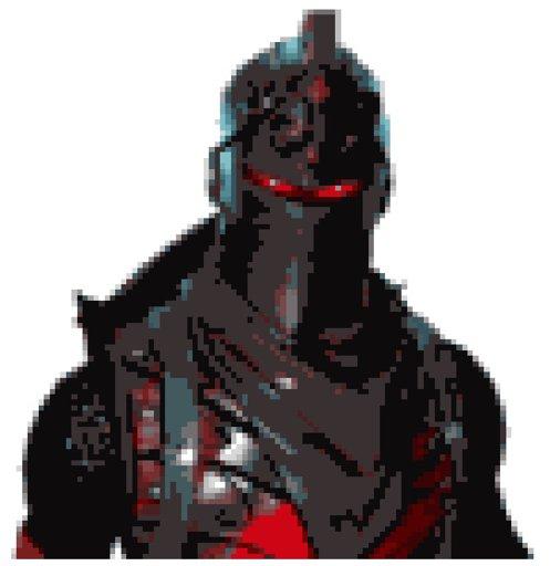 Black Knight Pixel art   Fortnite: Battle Royale Armory Amino