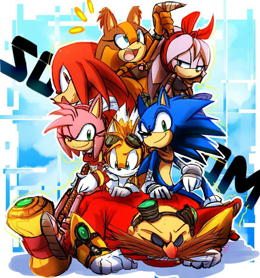 Sonic Boom Tv Show Quiz Sonic The Hedgehog Amino