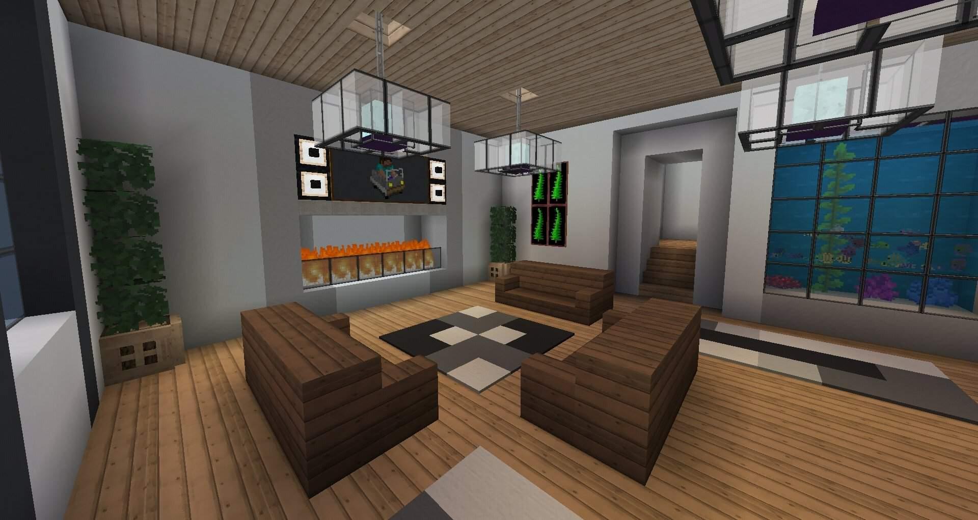 Modern interior | Minecraft Amino