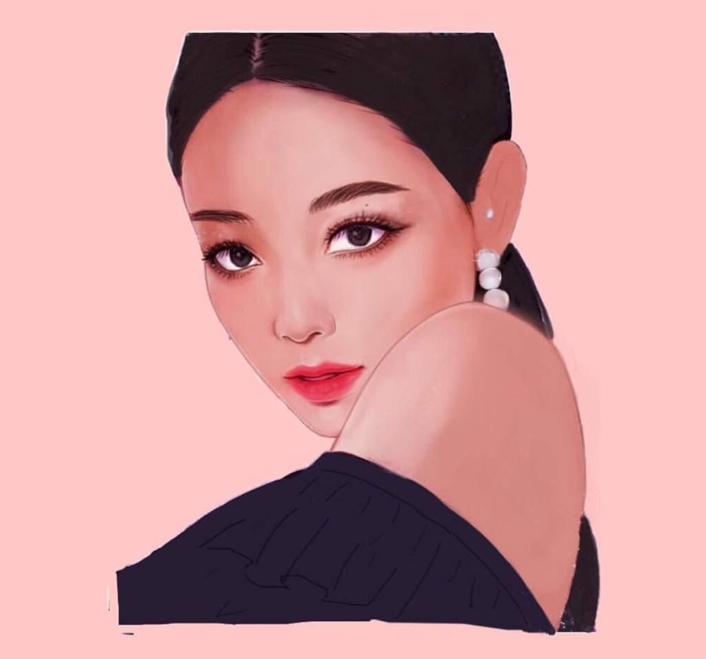 Jennie Fanart Jennie Fanart Blackpink Pink Aesthetic