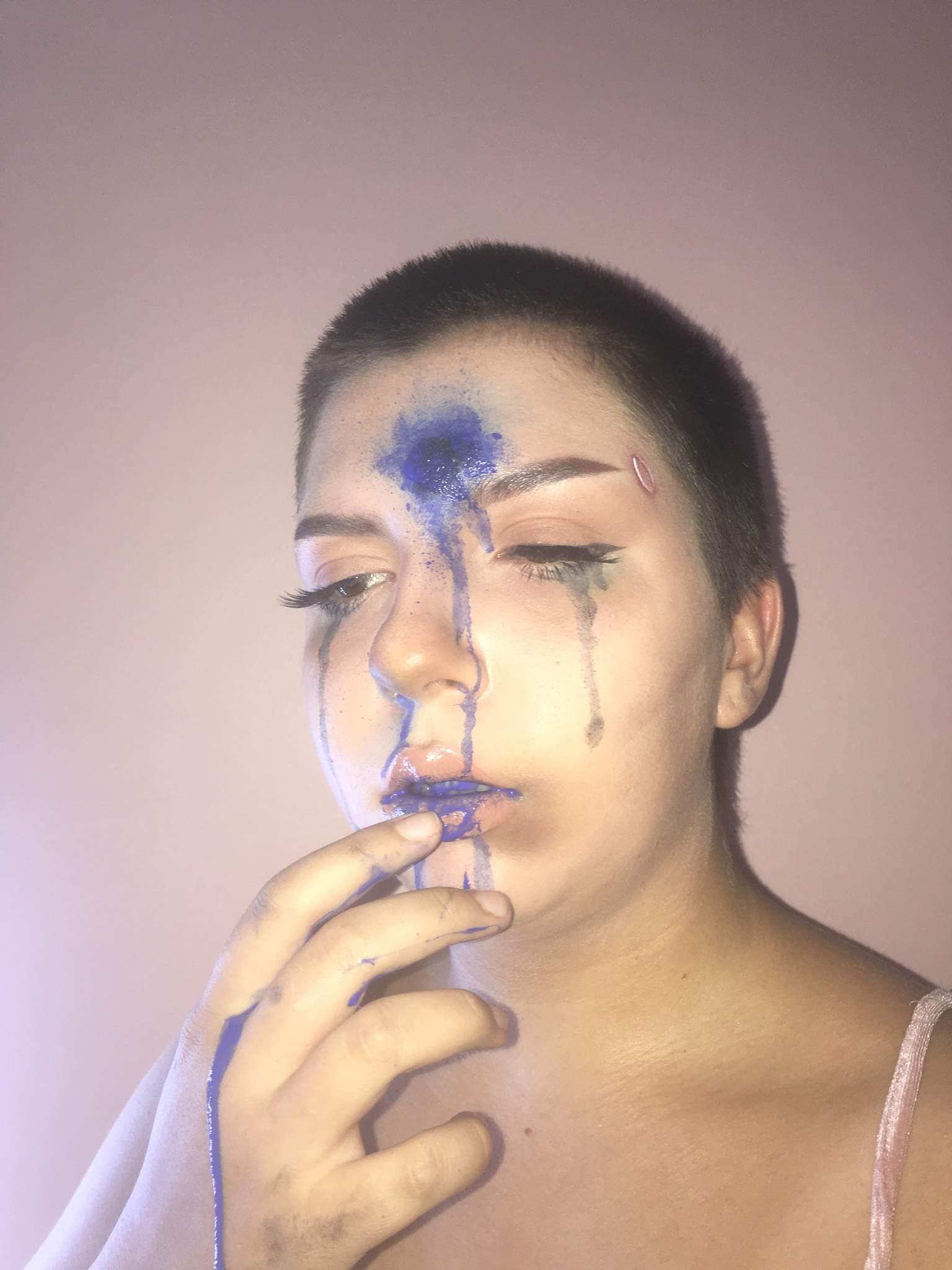 Some Emo Makeup Detroit Become Human