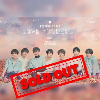 Bts Sold Out Seoul Concert Tickets Bts Amino