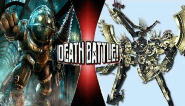 Death Battle 16 Metal Face Vs Big Daddy Xenoblade