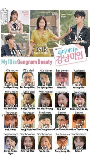 My Id Is Gangnam Beauty Cast Young Mi Rae Gastronomia Y Viajes