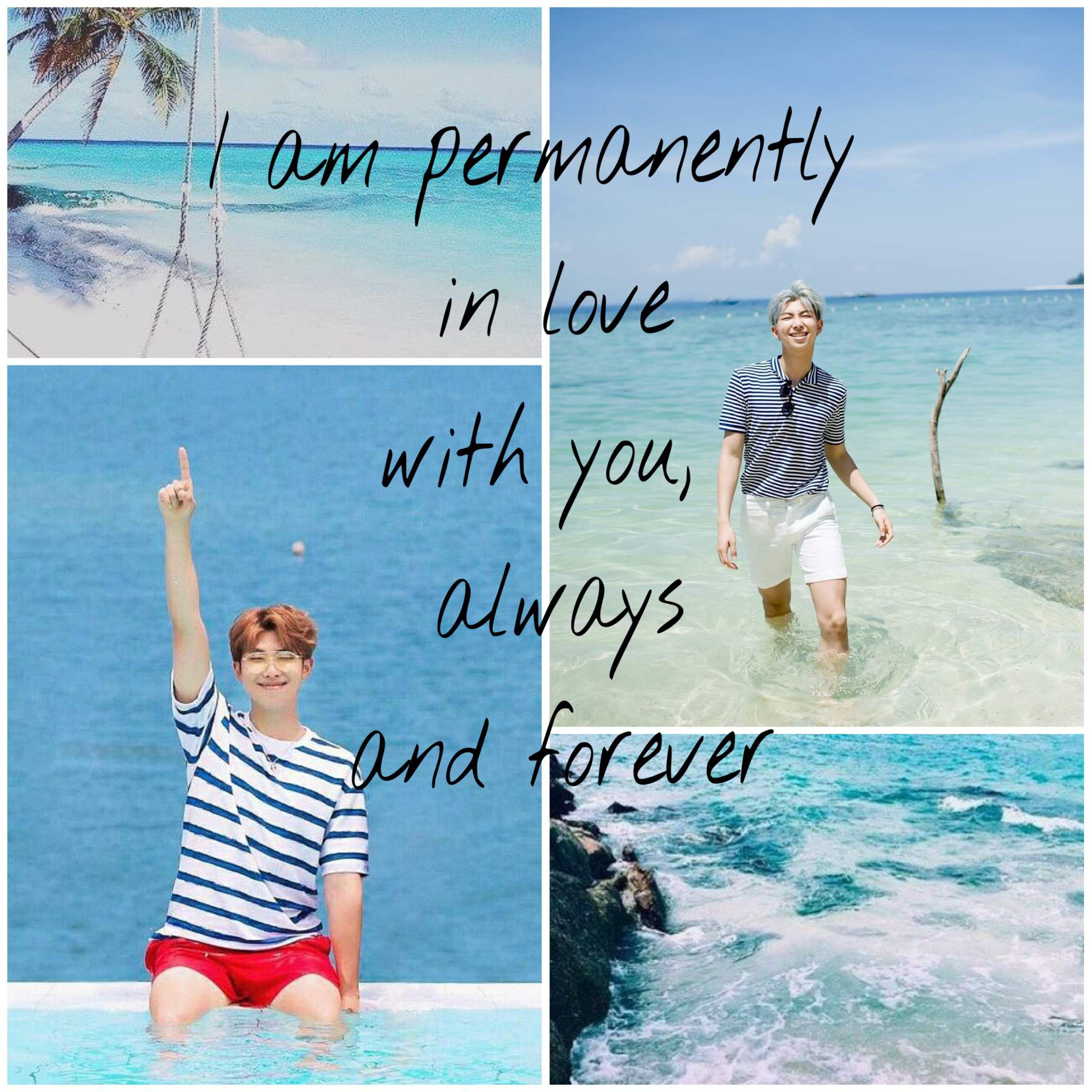 🐬BTS at the beach with you// imagine   ARMY's Amino