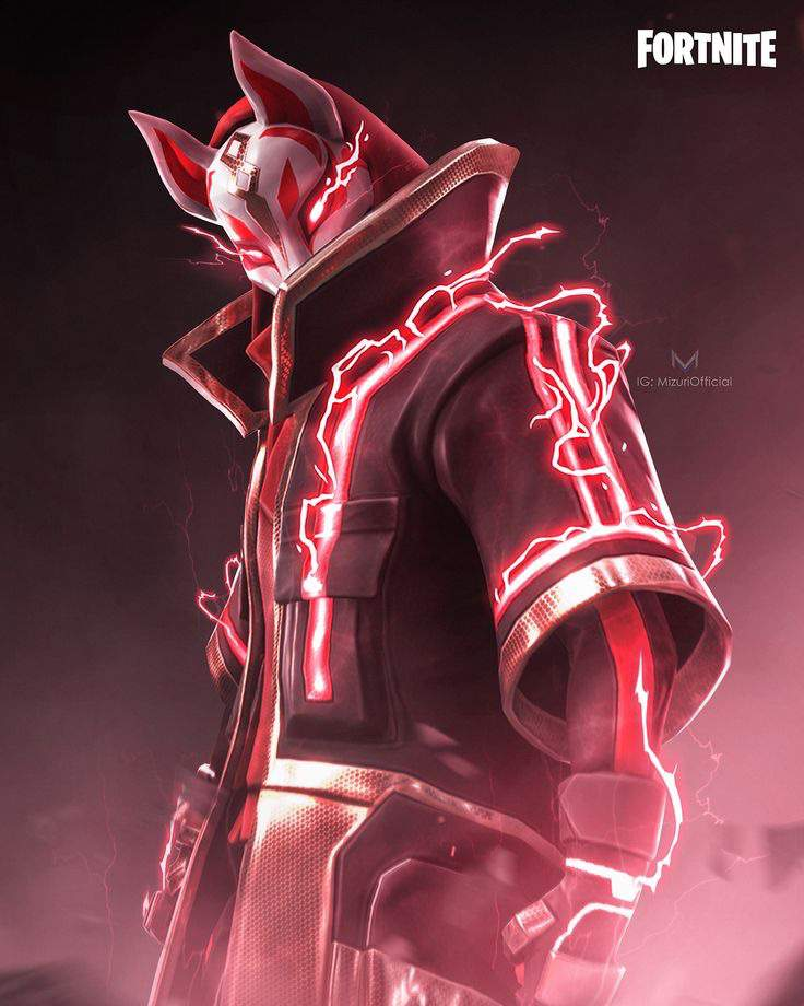 That time when you know Drift is your fave Fortnite skin