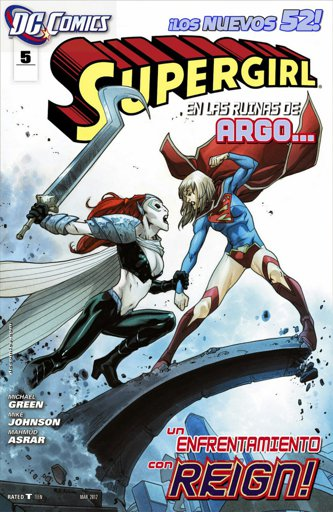 Supergirl #5 - The New 52 | Wiki | Supergirl en Español Amino