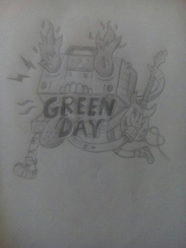 More Gd Drawings Idiot Nation Green Day Amino