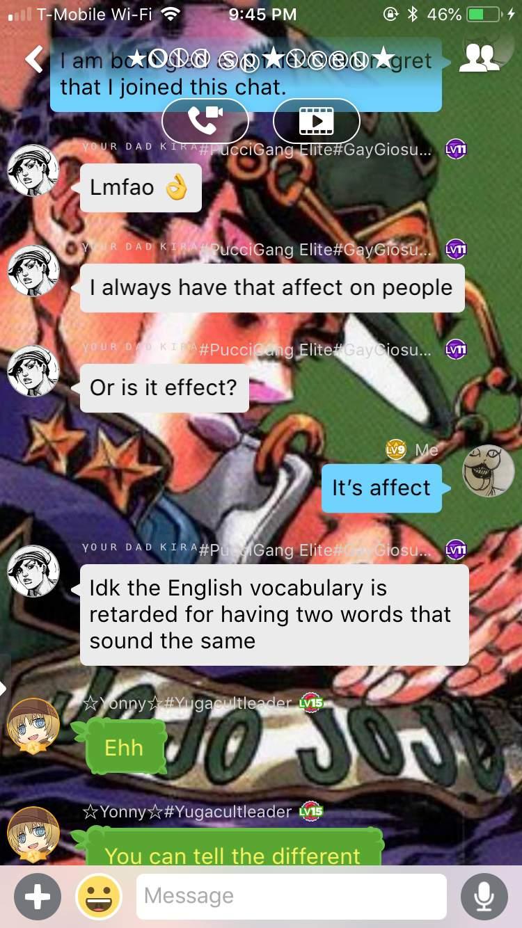 Showing Off My Impresive Grammar Skills Jojo Amino Amino