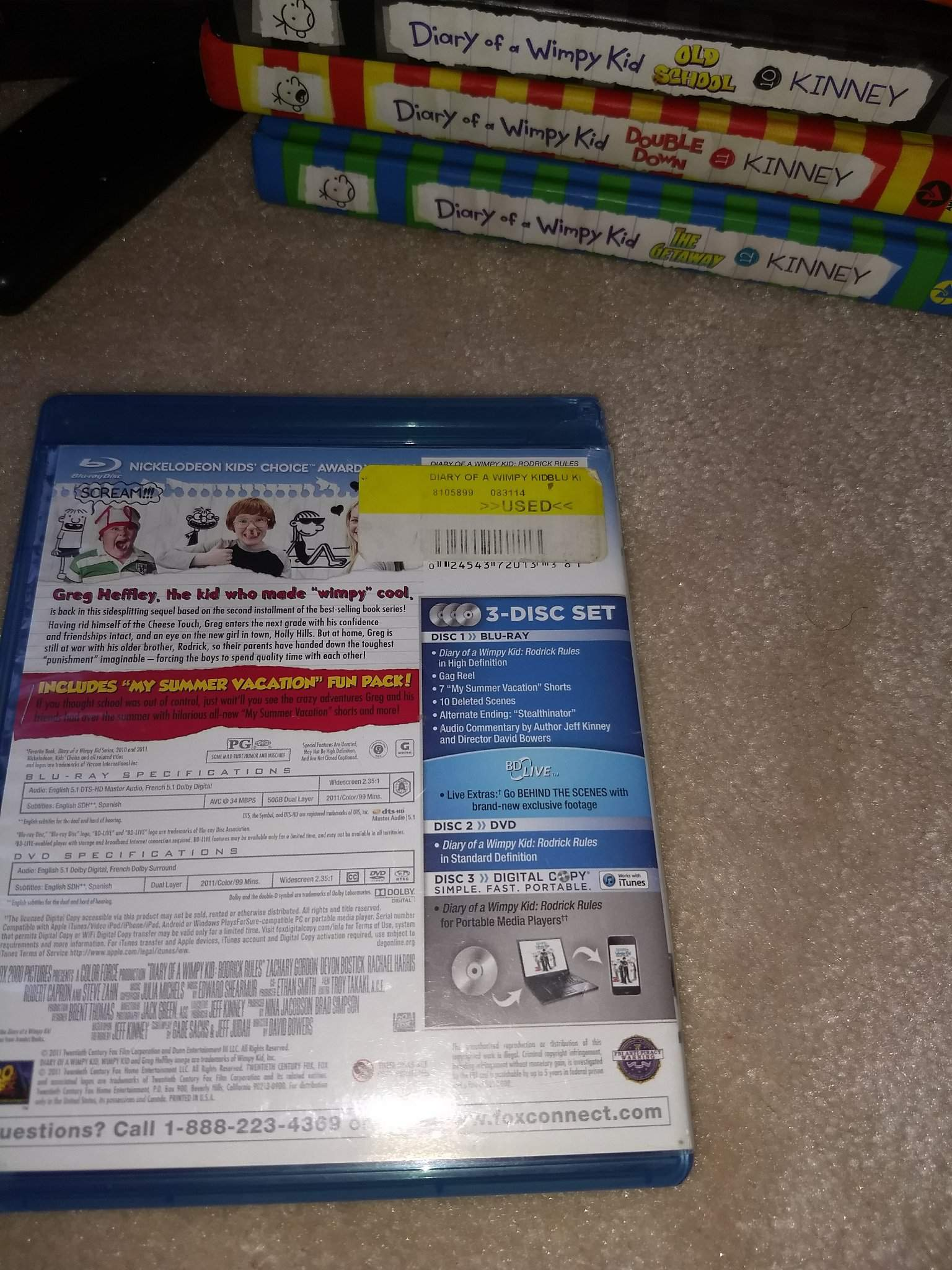 Diary Of A Wimpy Kid Rodrick Rules Wiki T V Movies Music Games More Amino
