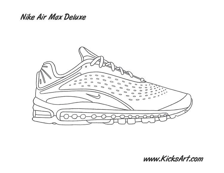 Nike Air Max Deluxe stencil now available! Hoops Amino  Hoops Amino